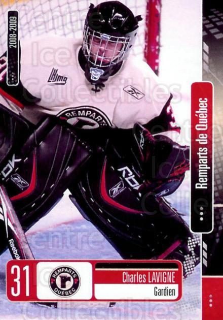 2008-09 Quebec Remparts #1 Charles Lavigne<br/>1 In Stock - $3.00 each - <a href=https://centericecollectibles.foxycart.com/cart?name=2008-09%20Quebec%20Remparts%20%231%20Charles%20Lavigne...&price=$3.00&code=477671 class=foxycart> Buy it now! </a>