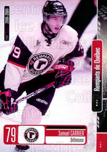 2008-09 Quebec Remparts #3 Samuel Carrier<br/>5 In Stock - $3.00 each - <a href=https://centericecollectibles.foxycart.com/cart?name=2008-09%20Quebec%20Remparts%20%233%20Samuel%20Carrier...&price=$3.00&code=477673 class=foxycart> Buy it now! </a>