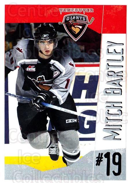 2005-06 Vancouver Giants #2 Mitchell Bartley<br/>2 In Stock - $3.00 each - <a href=https://centericecollectibles.foxycart.com/cart?name=2005-06%20Vancouver%20Giants%20%232%20Mitchell%20Bartle...&quantity_max=2&price=$3.00&code=477981 class=foxycart> Buy it now! </a>