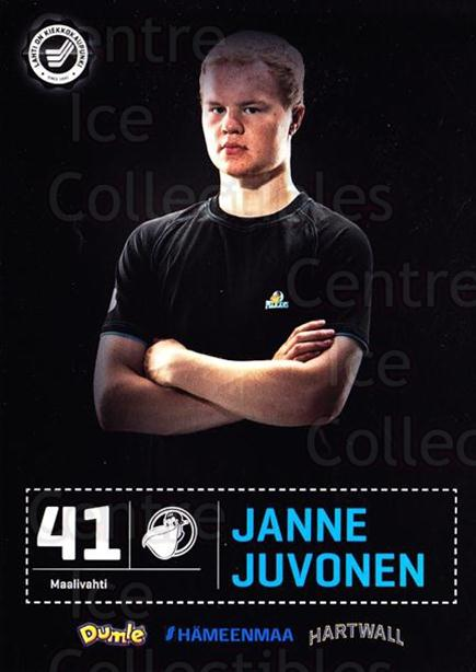 2012-13 Finnish Pelicans Postcards #9 Janne Juvonen<br/>2 In Stock - $3.00 each - <a href=https://centericecollectibles.foxycart.com/cart?name=2012-13%20Finnish%20Pelicans%20Postcards%20%239%20Janne%20Juvonen...&quantity_max=2&price=$3.00&code=478013 class=foxycart> Buy it now! </a>