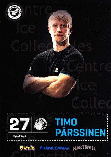 2012-13 Finnish Pelicans Postcards #18 Timo Parssinen<br/>2 In Stock - $3.00 each - <a href=https://centericecollectibles.foxycart.com/cart?name=2012-13%20Finnish%20Pelicans%20Postcards%20%2318%20Timo%20Parssinen...&quantity_max=2&price=$3.00&code=478022 class=foxycart> Buy it now! </a>