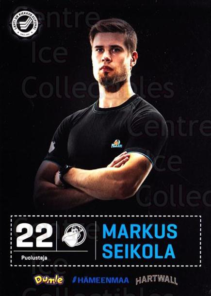 2012-13 Finnish Pelicans Postcards #23 Markus Seikola<br/>3 In Stock - $3.00 each - <a href=https://centericecollectibles.foxycart.com/cart?name=2012-13%20Finnish%20Pelicans%20Postcards%20%2323%20Markus%20Seikola...&quantity_max=3&price=$3.00&code=478027 class=foxycart> Buy it now! </a>