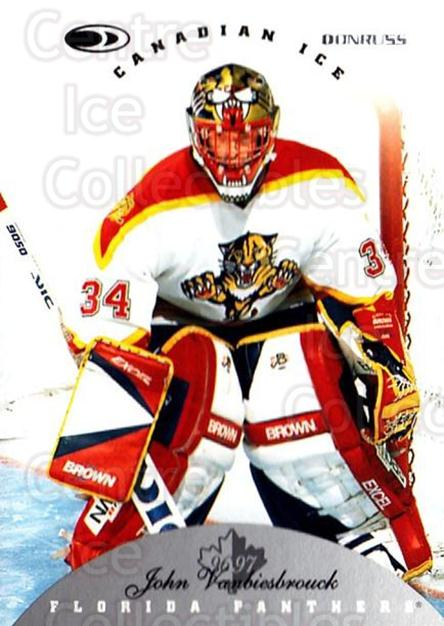 1996-97 Canadian Ice #84 John Vanbiesbrouck<br/>5 In Stock - $1.00 each - <a href=https://centericecollectibles.foxycart.com/cart?name=1996-97%20Canadian%20Ice%20%2384%20John%20Vanbiesbro...&quantity_max=5&price=$1.00&code=47824 class=foxycart> Buy it now! </a>