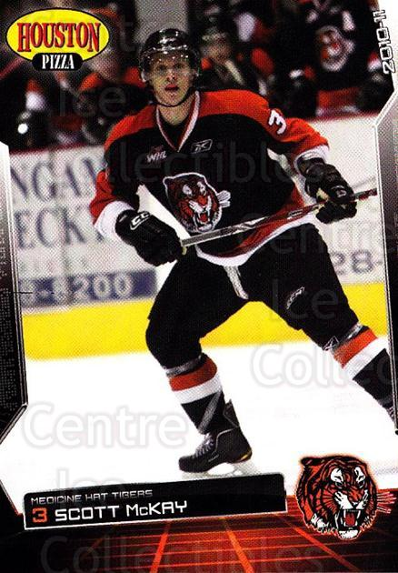 2010-11 Medicine Hat Tigers #14 Scott McKay<br/>3 In Stock - $3.00 each - <a href=https://centericecollectibles.foxycart.com/cart?name=2010-11%20Medicine%20Hat%20Tigers%20%2314%20Scott%20McKay...&quantity_max=3&price=$3.00&code=478452 class=foxycart> Buy it now! </a>