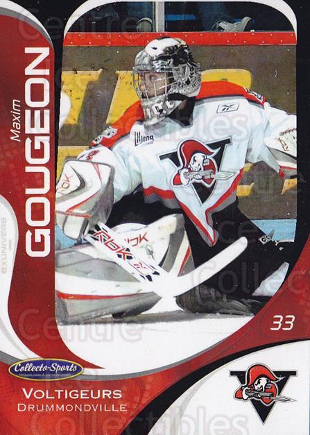 2007-08 Drummondville Voltigeurs #1 Maxim Gougeon<br/>3 In Stock - $3.00 each - <a href=https://centericecollectibles.foxycart.com/cart?name=2007-08%20Drummondville%20Voltigeurs%20%231%20Maxim%20Gougeon...&price=$3.00&code=478611 class=foxycart> Buy it now! </a>