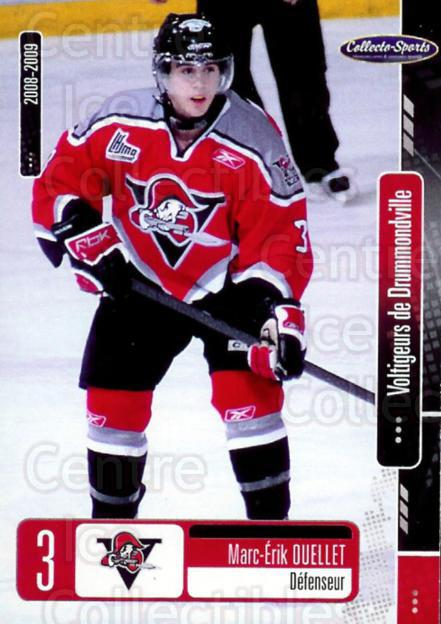 2008-09 Drummondville Voltigeurs #25 Marc-Erik Ouellet<br/>7 In Stock - $3.00 each - <a href=https://centericecollectibles.foxycart.com/cart?name=2008-09%20Drummondville%20Voltigeurs%20%2325%20Marc-Erik%20Ouell...&price=$3.00&code=478660 class=foxycart> Buy it now! </a>