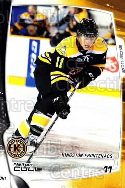 2011-12 Kingston Frontenacs #6 Nathan Cull<br/>2 In Stock - $3.00 each - <a href=https://centericecollectibles.foxycart.com/cart?name=2011-12%20Kingston%20Frontenacs%20%236%20Nathan%20Cull...&price=$3.00&code=478745 class=foxycart> Buy it now! </a>