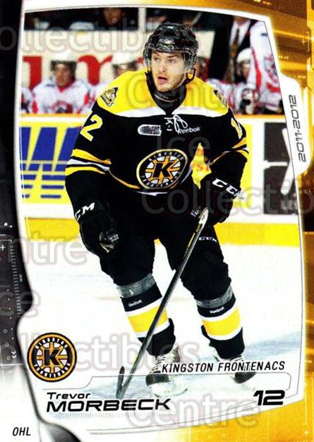 2011-12 Kingston Frontenacs #7 Trevor Morbeck<br/>2 In Stock - $3.00 each - <a href=https://centericecollectibles.foxycart.com/cart?name=2011-12%20Kingston%20Frontenacs%20%237%20Trevor%20Morbeck...&price=$3.00&code=478746 class=foxycart> Buy it now! </a>