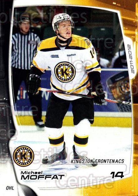 2011-12 Kingston Frontenacs #9 Michael Moffat<br/>2 In Stock - $3.00 each - <a href=https://centericecollectibles.foxycart.com/cart?name=2011-12%20Kingston%20Frontenacs%20%239%20Michael%20Moffat...&price=$3.00&code=478748 class=foxycart> Buy it now! </a>