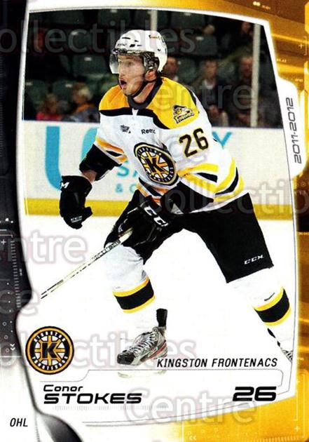 2011-12 Kingston Frontenacs #16 Conor Stokes<br/>1 In Stock - $3.00 each - <a href=https://centericecollectibles.foxycart.com/cart?name=2011-12%20Kingston%20Frontenacs%20%2316%20Conor%20Stokes...&price=$3.00&code=478755 class=foxycart> Buy it now! </a>