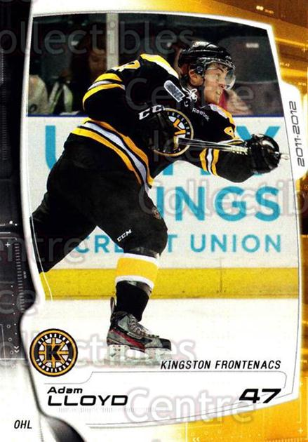 2011-12 Kingston Frontenacs #21 Adam Lloyd<br/>2 In Stock - $3.00 each - <a href=https://centericecollectibles.foxycart.com/cart?name=2011-12%20Kingston%20Frontenacs%20%2321%20Adam%20Lloyd...&price=$3.00&code=478760 class=foxycart> Buy it now! </a>