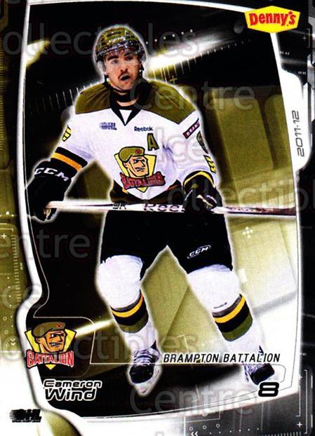 2011-12 Brampton Battalion #7 Cameron Wind<br/>3 In Stock - $3.00 each - <a href=https://centericecollectibles.foxycart.com/cart?name=2011-12%20Brampton%20Battalion%20%237%20Cameron%20Wind...&price=$3.00&code=478945 class=foxycart> Buy it now! </a>
