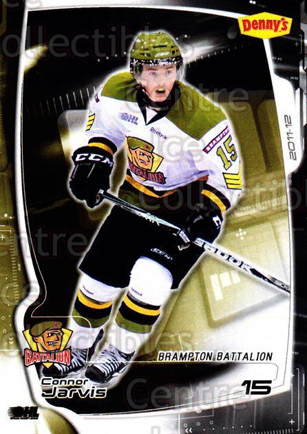2011-12 Brampton Battalion #12 Connor Jarvis<br/>3 In Stock - $3.00 each - <a href=https://centericecollectibles.foxycart.com/cart?name=2011-12%20Brampton%20Battalion%20%2312%20Connor%20Jarvis...&price=$3.00&code=478950 class=foxycart> Buy it now! </a>
