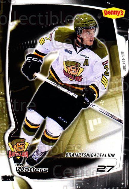 2011-12 Brampton Battalion #22 Ian Watters<br/>1 In Stock - $3.00 each - <a href=https://centericecollectibles.foxycart.com/cart?name=2011-12%20Brampton%20Battalion%20%2322%20Ian%20Watters...&price=$3.00&code=478960 class=foxycart> Buy it now! </a>