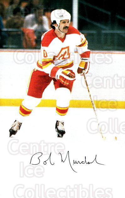 1979-80 Atlanta Flames Postcards #10 Bob Murdoch<br/>1 In Stock - $5.00 each - <a href=https://centericecollectibles.foxycart.com/cart?name=1979-80%20Atlanta%20Flames%20Postcards%20%2310%20Bob%20Murdoch...&quantity_max=1&price=$5.00&code=479044 class=foxycart> Buy it now! </a>