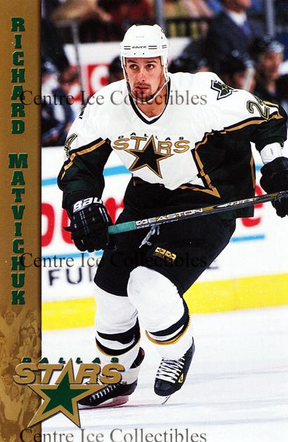 2000-01 Dallas Stars Postcards #16 Richard Matvichuk<br/>1 In Stock - $3.00 each - <a href=https://centericecollectibles.foxycart.com/cart?name=2000-01%20Dallas%20Stars%20Postcards%20%2316%20Richard%20Matvich...&quantity_max=1&price=$3.00&code=479085 class=foxycart> Buy it now! </a>