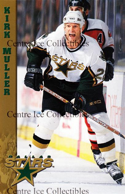 2000-01 Dallas Stars Postcards #19 Kirk Muller<br/>1 In Stock - $3.00 each - <a href=https://centericecollectibles.foxycart.com/cart?name=2000-01%20Dallas%20Stars%20Postcards%20%2319%20Kirk%20Muller...&quantity_max=1&price=$3.00&code=479088 class=foxycart> Buy it now! </a>