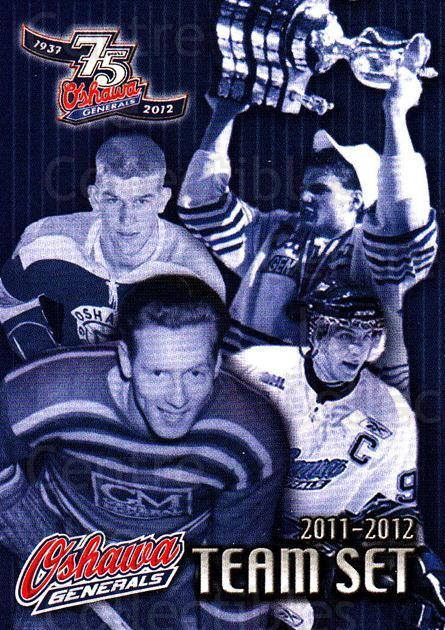2011-12 Oshawa Generals #25 Checklist, Eric Lindros, Bobby Orr, John Tavares, Red Tilson<br/>1 In Stock - $3.00 each - <a href=https://centericecollectibles.foxycart.com/cart?name=2011-12%20Oshawa%20Generals%20%2325%20Checklist,%20Eric...&price=$3.00&code=479162 class=foxycart> Buy it now! </a>