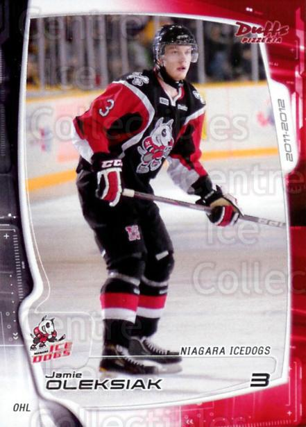 2011-12 Niagara IceDogs #2 Jamie Oleksiak<br/>1 In Stock - $3.00 each - <a href=https://centericecollectibles.foxycart.com/cart?name=2011-12%20Niagara%20IceDogs%20%232%20Jamie%20Oleksiak...&quantity_max=1&price=$3.00&code=479275 class=foxycart> Buy it now! </a>