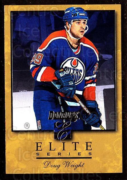 1996-97 Donruss Elite Inserts Gold #3 Doug Weight<br/>1 In Stock - $10.00 each - <a href=https://centericecollectibles.foxycart.com/cart?name=1996-97%20Donruss%20Elite%20Inserts%20Gold%20%233%20Doug%20Weight...&quantity_max=1&price=$10.00&code=47939 class=foxycart> Buy it now! </a>