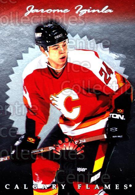1996-97 Donruss Elite #131 Jarome Iginla<br/>9 In Stock - $1.00 each - <a href=https://centericecollectibles.foxycart.com/cart?name=1996-97%20Donruss%20Elite%20%23131%20Jarome%20Iginla...&quantity_max=9&price=$1.00&code=47986 class=foxycart> Buy it now! </a>