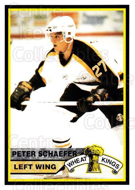 1994-95 Brandon Wheat Kings #6 Peter Schaefer<br/>1 In Stock - $3.00 each - <a href=https://centericecollectibles.foxycart.com/cart?name=1994-95%20Brandon%20Wheat%20Kings%20%236%20Peter%20Schaefer...&quantity_max=1&price=$3.00&code=479907 class=foxycart> Buy it now! </a>