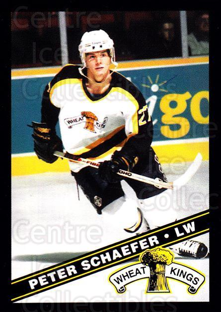 1995-96 Brandon Wheat Kings #22 Peter Schaefer<br/>1 In Stock - $3.00 each - <a href=https://centericecollectibles.foxycart.com/cart?name=1995-96%20Brandon%20Wheat%20Kings%20%2322%20Peter%20Schaefer...&quantity_max=1&price=$3.00&code=479912 class=foxycart> Buy it now! </a>