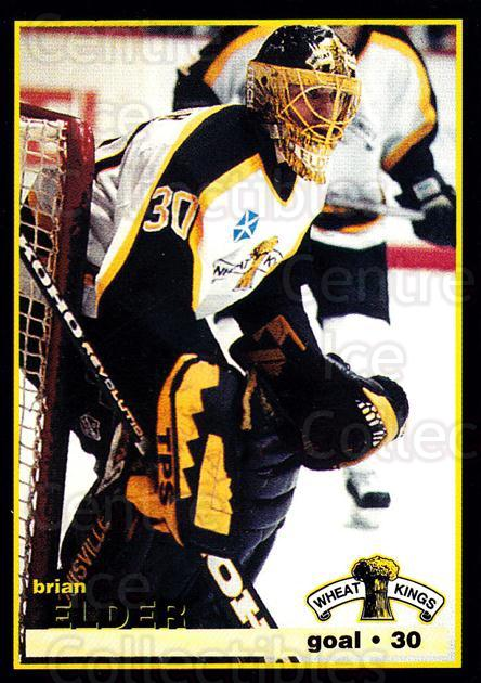 1996-97 Brandon Wheat Kings #16 Brian Elder<br/>1 In Stock - $3.00 each - <a href=https://centericecollectibles.foxycart.com/cart?name=1996-97%20Brandon%20Wheat%20Kings%20%2316%20Brian%20Elder...&quantity_max=1&price=$3.00&code=479923 class=foxycart> Buy it now! </a>