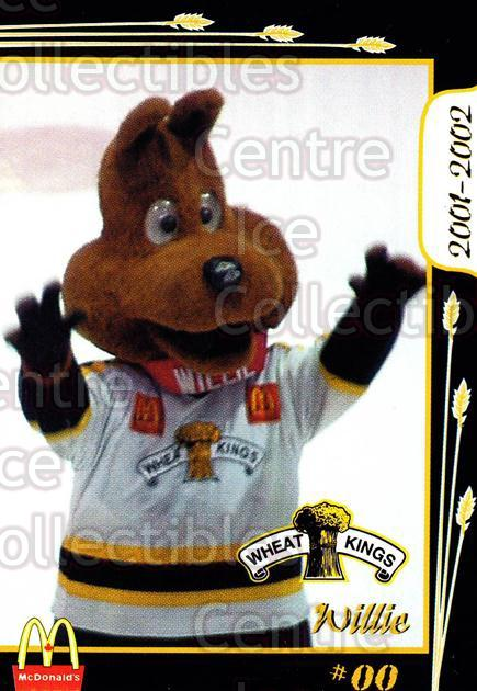 2001-02 Brandon Wheat Kings #24 Mascot<br/>1 In Stock - $3.00 each - <a href=https://centericecollectibles.foxycart.com/cart?name=2001-02%20Brandon%20Wheat%20Kings%20%2324%20Mascot...&quantity_max=1&price=$3.00&code=480057 class=foxycart> Buy it now! </a>