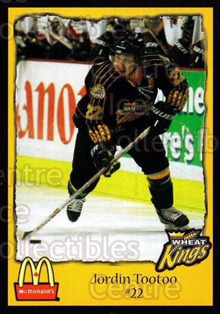 2002-03 Brandon Wheat Kings #19 Jordin Tootoo<br/>1 In Stock - $3.00 each - <a href=https://centericecollectibles.foxycart.com/cart?name=2002-03%20Brandon%20Wheat%20Kings%20%2319%20Jordin%20Tootoo...&quantity_max=1&price=$3.00&code=480076 class=foxycart> Buy it now! </a>