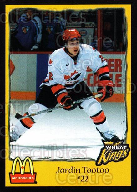 2002-03 Brandon Wheat Kings #20 Jordin Tootoo<br/>1 In Stock - $3.00 each - <a href=https://centericecollectibles.foxycart.com/cart?name=2002-03%20Brandon%20Wheat%20Kings%20%2320%20Jordin%20Tootoo...&quantity_max=1&price=$3.00&code=480077 class=foxycart> Buy it now! </a>