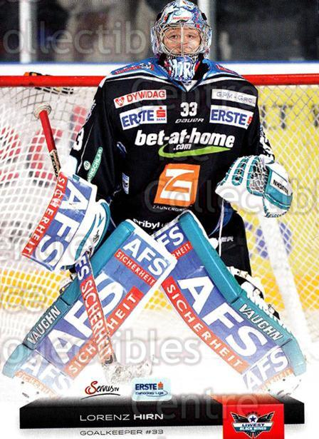 2012-13 Erste Bank Eishockey Liga EBEL #2 Lorenz Hirn<br/>6 In Stock - $2.00 each - <a href=https://centericecollectibles.foxycart.com/cart?name=2012-13%20Erste%20Bank%20Eishockey%20Liga%20EBEL%20%232%20Lorenz%20Hirn...&quantity_max=6&price=$2.00&code=480275 class=foxycart> Buy it now! </a>
