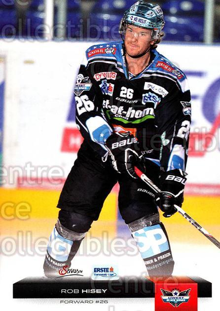 2012-13 Erste Bank Eishockey Liga EBEL #15 Rob Hisey<br/>4 In Stock - $2.00 each - <a href=https://centericecollectibles.foxycart.com/cart?name=2012-13%20Erste%20Bank%20Eishockey%20Liga%20EBEL%20%2315%20Rob%20Hisey...&quantity_max=4&price=$2.00&code=480288 class=foxycart> Buy it now! </a>