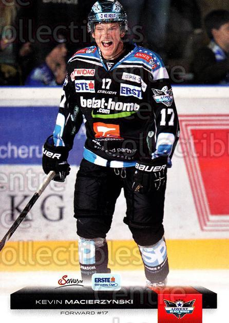 2012-13 Erste Bank Eishockey Liga EBEL #21 Kevin Macierzynski<br/>5 In Stock - $2.00 each - <a href=https://centericecollectibles.foxycart.com/cart?name=2012-13%20Erste%20Bank%20Eishockey%20Liga%20EBEL%20%2321%20Kevin%20Macierzyn...&quantity_max=5&price=$2.00&code=480294 class=foxycart> Buy it now! </a>