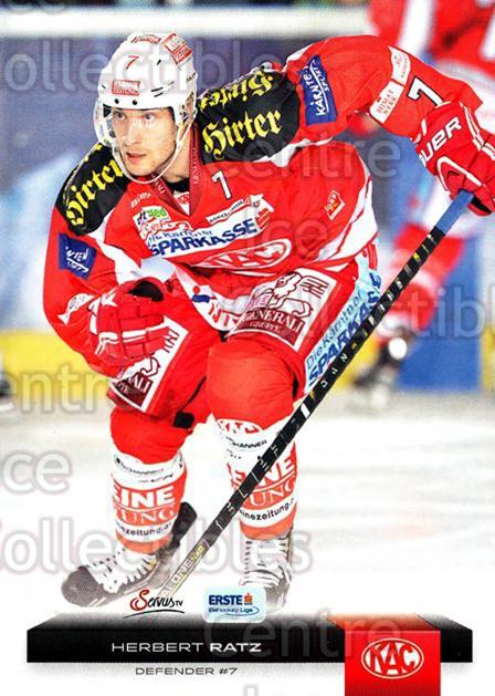 2012-13 Erste Bank Eishockey Liga EBEL #35 Herbert Ratz<br/>6 In Stock - $2.00 each - <a href=https://centericecollectibles.foxycart.com/cart?name=2012-13%20Erste%20Bank%20Eishockey%20Liga%20EBEL%20%2335%20Herbert%20Ratz...&quantity_max=6&price=$2.00&code=480308 class=foxycart> Buy it now! </a>