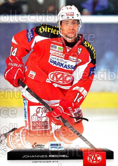 2012-13 Erste Bank Eishockey Liga EBEL #36 Johannes Reichel<br/>6 In Stock - $2.00 each - <a href=https://centericecollectibles.foxycart.com/cart?name=2012-13%20Erste%20Bank%20Eishockey%20Liga%20EBEL%20%2336%20Johannes%20Reiche...&quantity_max=6&price=$2.00&code=480309 class=foxycart> Buy it now! </a>
