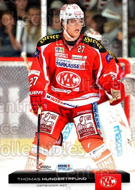 2012-13 Erste Bank Eishockey Liga EBEL #39 Thomas Hundertpfund<br/>6 In Stock - $2.00 each - <a href=https://centericecollectibles.foxycart.com/cart?name=2012-13%20Erste%20Bank%20Eishockey%20Liga%20EBEL%20%2339%20Thomas%20Hundertp...&quantity_max=6&price=$2.00&code=480312 class=foxycart> Buy it now! </a>