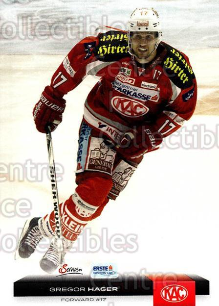 2012-13 Erste Bank Eishockey Liga EBEL #42 Gregor Hager<br/>5 In Stock - $2.00 each - <a href=https://centericecollectibles.foxycart.com/cart?name=2012-13%20Erste%20Bank%20Eishockey%20Liga%20EBEL%20%2342%20Gregor%20Hager...&quantity_max=5&price=$2.00&code=480315 class=foxycart> Buy it now! </a>