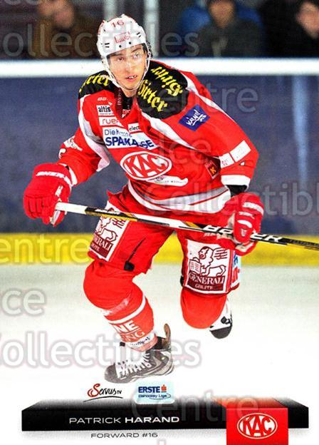 2012-13 Erste Bank Eishockey Liga EBEL #43 Patrick Harand<br/>5 In Stock - $2.00 each - <a href=https://centericecollectibles.foxycart.com/cart?name=2012-13%20Erste%20Bank%20Eishockey%20Liga%20EBEL%20%2343%20Patrick%20Harand...&quantity_max=5&price=$2.00&code=480316 class=foxycart> Buy it now! </a>