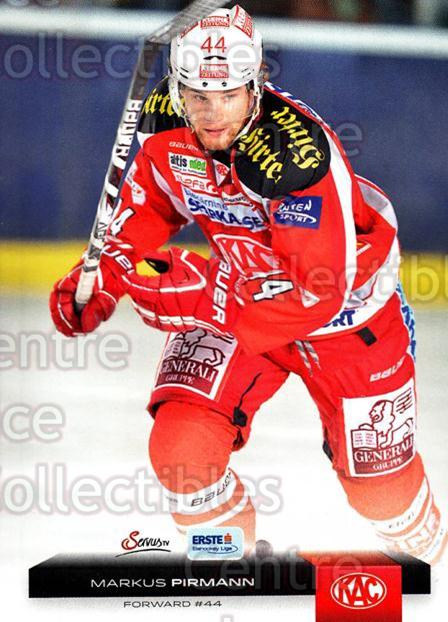 2012-13 Erste Bank Eishockey Liga EBEL #48 Markus Pirmann<br/>6 In Stock - $2.00 each - <a href=https://centericecollectibles.foxycart.com/cart?name=2012-13%20Erste%20Bank%20Eishockey%20Liga%20EBEL%20%2348%20Markus%20Pirmann...&quantity_max=6&price=$2.00&code=480321 class=foxycart> Buy it now! </a>