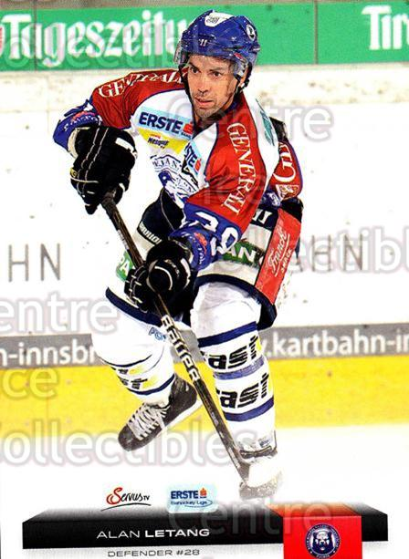 2012-13 Erste Bank Eishockey Liga EBEL #56 Alan Letang<br/>4 In Stock - $2.00 each - <a href=https://centericecollectibles.foxycart.com/cart?name=2012-13%20Erste%20Bank%20Eishockey%20Liga%20EBEL%20%2356%20Alan%20Letang...&quantity_max=4&price=$2.00&code=480329 class=foxycart> Buy it now! </a>