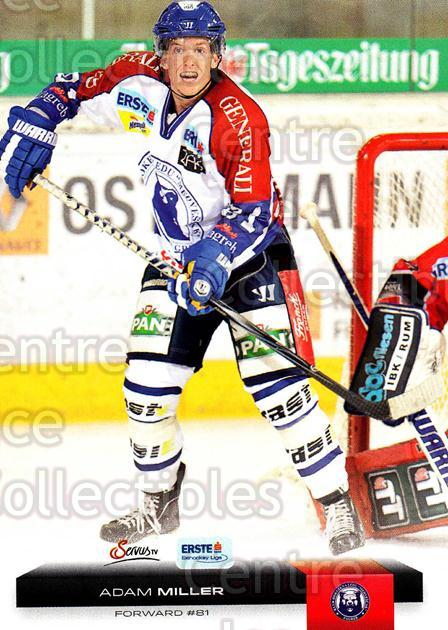 2012-13 Erste Bank Eishockey Liga EBEL #68 Adam Miller<br/>4 In Stock - $2.00 each - <a href=https://centericecollectibles.foxycart.com/cart?name=2012-13%20Erste%20Bank%20Eishockey%20Liga%20EBEL%20%2368%20Adam%20Miller...&quantity_max=4&price=$2.00&code=480341 class=foxycart> Buy it now! </a>