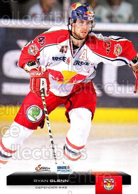 2012-13 Erste Bank Eishockey Liga EBEL #99 Ryan Glenn<br/>4 In Stock - $2.00 each - <a href=https://centericecollectibles.foxycart.com/cart?name=2012-13%20Erste%20Bank%20Eishockey%20Liga%20EBEL%20%2399%20Ryan%20Glenn...&quantity_max=4&price=$2.00&code=480372 class=foxycart> Buy it now! </a>