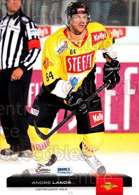 2012-13 Erste Bank Eishockey Liga EBEL #172 Andre Lakos<br/>4 In Stock - $2.00 each - <a href=https://centericecollectibles.foxycart.com/cart?name=2012-13%20Erste%20Bank%20Eishockey%20Liga%20EBEL%20%23172%20Andre%20Lakos...&quantity_max=4&price=$2.00&code=480445 class=foxycart> Buy it now! </a>