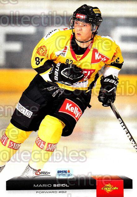 2012-13 Erste Bank Eishockey Liga EBEL #188 Mario Seidl<br/>5 In Stock - $2.00 each - <a href=https://centericecollectibles.foxycart.com/cart?name=2012-13%20Erste%20Bank%20Eishockey%20Liga%20EBEL%20%23188%20Mario%20Seidl...&quantity_max=5&price=$2.00&code=480461 class=foxycart> Buy it now! </a>