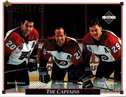 1992-93 Philadelphia Flyers Line-Up Cards #38 Kevin Dineen, Keith Acton, Terry Carkner<br/>3 In Stock - $10.00 each - <a href=https://centericecollectibles.foxycart.com/cart?name=1992-93%20Philadelphia%20Flyers%20Line-Up%20Cards%20%2338%20Kevin%20Dineen,%20K...&quantity_max=3&price=$10.00&code=480594 class=foxycart> Buy it now! </a>