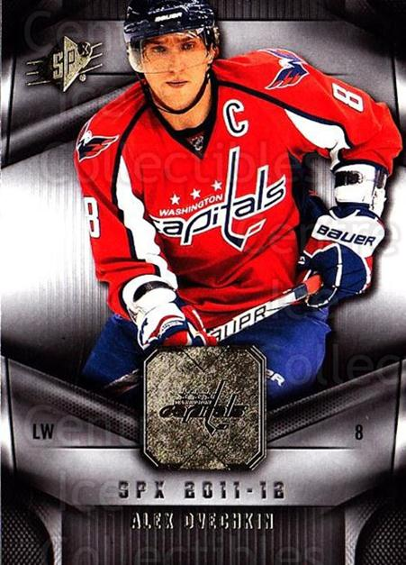 2011-12 Spx #3 Alexander Ovechkin<br/>2 In Stock - $2.00 each - <a href=https://centericecollectibles.foxycart.com/cart?name=2011-12%20Spx%20%233%20Alexander%20Ovech...&price=$2.00&code=480603 class=foxycart> Buy it now! </a>