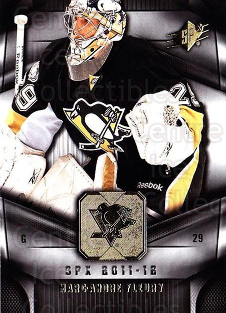 2011-12 Spx #23 Marc-Andre Fleury<br/>2 In Stock - $2.00 each - <a href=https://centericecollectibles.foxycart.com/cart?name=2011-12%20Spx%20%2323%20Marc-Andre%20Fleu...&quantity_max=2&price=$2.00&code=480623 class=foxycart> Buy it now! </a>