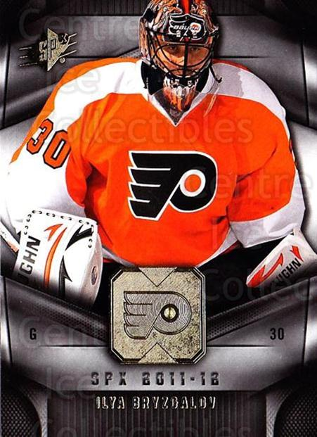 2011-12 Spx #28 Ilya Bryzgalov<br/>4 In Stock - $1.00 each - <a href=https://centericecollectibles.foxycart.com/cart?name=2011-12%20Spx%20%2328%20Ilya%20Bryzgalov...&quantity_max=4&price=$1.00&code=480628 class=foxycart> Buy it now! </a>