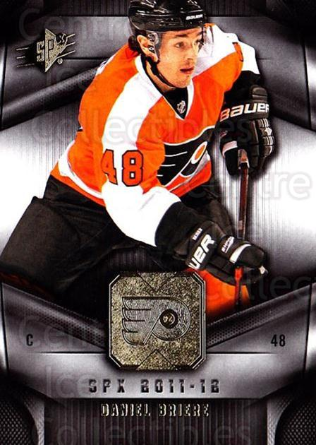 2011-12 Spx #32 Daniel Briere<br/>4 In Stock - $1.00 each - <a href=https://centericecollectibles.foxycart.com/cart?name=2011-12%20Spx%20%2332%20Daniel%20Briere...&quantity_max=4&price=$1.00&code=480632 class=foxycart> Buy it now! </a>